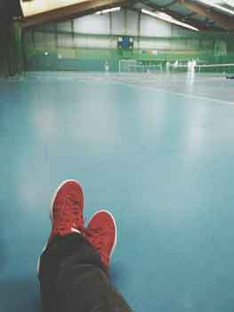 Can Badminton Shoes Be Used On Concrete