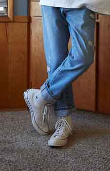 Why Does Everyone Wear White Converse Shoes?