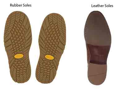 Why Are Leather Soles More Slippery Than Rubber Soles?