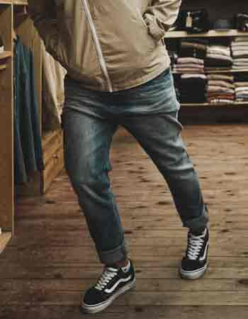 How to style Black Vans for work