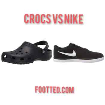 Crocs vs Nike