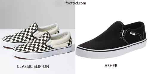 Vans Classic Slip-on vs Asher: What You Should Know